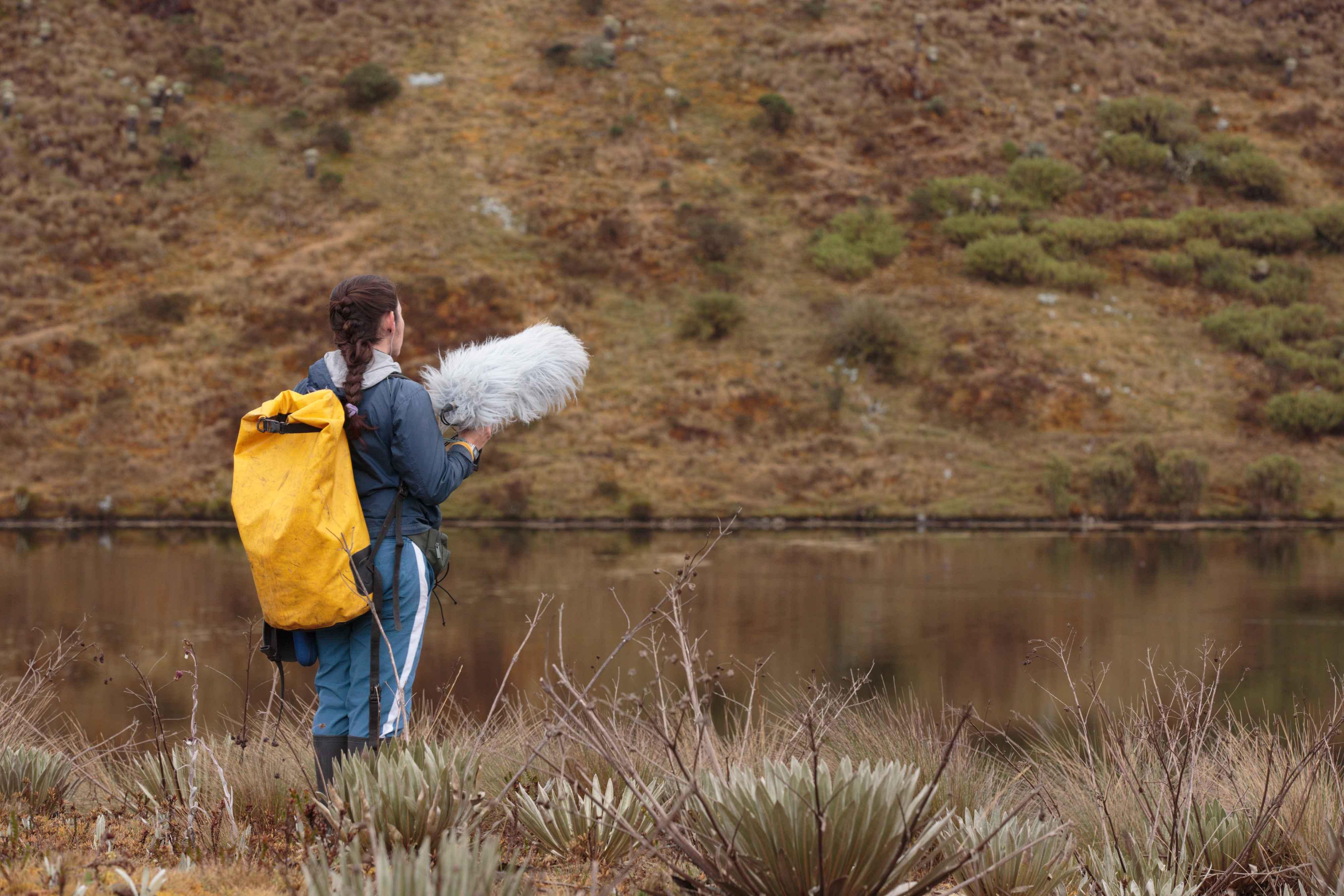 La bióloga que quiere defender los bosques a través de sus sonidos